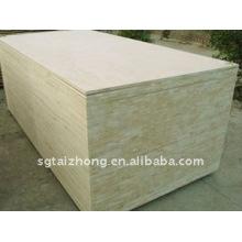 19mm Okume Veneer Panneaux lattés - panneaux blocs