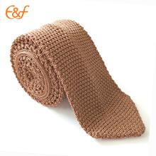Mens Various Colors Basic Designed Knit Tie Necktie