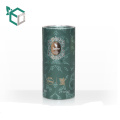 China suppliers ROUND custom logo printed luxury perfume box for perfume bottle