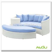 Audu Resin Wicker Hot Sale Alloy Lounger Furniture