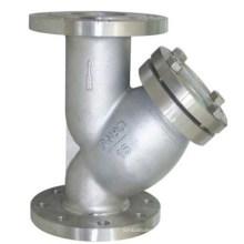 con colador Y de acero al carbono de drenaje pequeño
