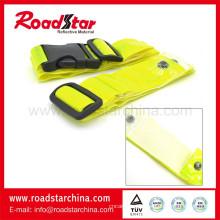 EN13356 Reflexivo cinturón de piel de seguridad