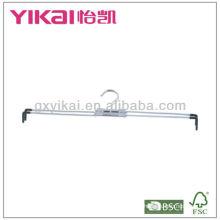 Set of 3pcs extensibel chrome plated metal hanger