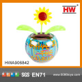 Children dancing flower toy