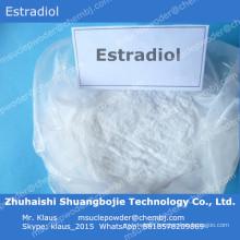 Female Hormone Estrogen Estradiol/ E2 for Female to Supply Estrogen