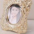 2016 new design elegant decor resin material photo frame