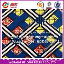 новый дизайн африканский супер воск ткань воска печати много