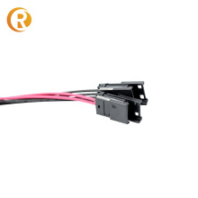 Black Color Small Electrical Waterproof Cable Ip68 Connector 2,4,6 Pin Waterproof For Led Light