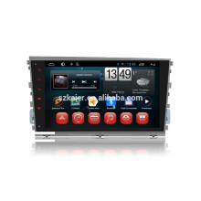 Kaier usine + Quad core -Full tactile android 4.4.2 voiture dvd pour Hyundai Mistra + OEM + 1024 * 600 + lien miroir + TPMS