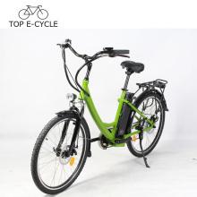 Precio barato e-bike bicicleta eléctrica modificada para requisitos particulares E de la bici de 26 pulgadas para la mujer de Europa hecha en China
