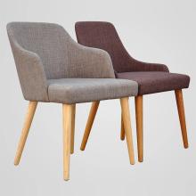 Ensemble de salle à manger Chaises en bois avec canapé-siège