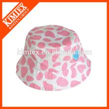 Sombrero adulto del bebé de la manera impresa del cubo