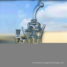 China Tubo de agua de cristal nuevo diseño para fumar