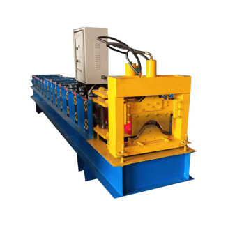 Roof Ridge Cap Tile Roll vormen Machine