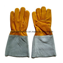 Leather TIG Welding Gloves / Argon Welding Gloves