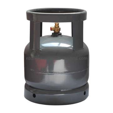 Bouteille de gaz GPL & réservoir d'essence en acier (AS-LPG-6KGB)