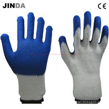 Cheap Latex Coated Mechanics Safety Gloves (LS014)