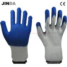Дешевые латексные защитные перчатки с механическим покрытием (LS014)