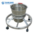 SKH034-5 Hospital Movable Stainless Steel Steel Workstation Waste Bucket