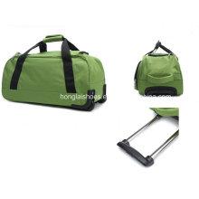 New Nylon Travelling Duffle Trolley Bag