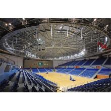 Fácil instalación Espacio Marco Gradas de gimnasio interior