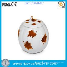 Noveltyt Pumpkin Maple Handmade Empty Candle Jars Wholesale