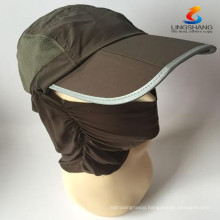 New Summer Womens and Mens Sun Protection Windproof Fishing Cap Neck Face Flap Hat
