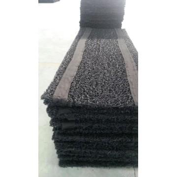 Drainage aveugle en plastique Geomat noir pour drainage