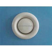 Válvula de disco de aire de escape de aluminio de ventilación de sistemas HVAC