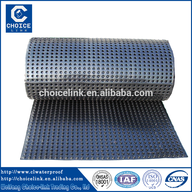 Polypropylene Drainage Cell : Dimpled plastic drain sheet drainage cell china manufacturer