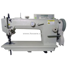 Single Needle Long Arm Top and Bottom Feed Lockstitch Machine