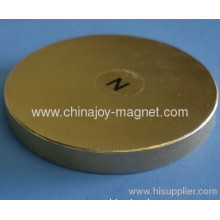 Therapy Disc Magnets Gold Coated Ndfeb Magnets