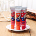 Plastic empty soft tube lip balm tube