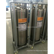 China 210L Flüssiger Sauerstoff / Stickstoff-Tieftemperaturzylinder