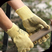 SRSafety cheapest dotted gloves/cotton gloves