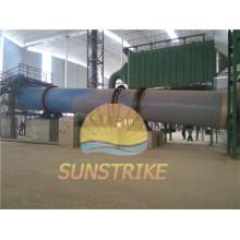 A gravilha de poupança de energia da mandioca seca o equipamento com certificado do CE