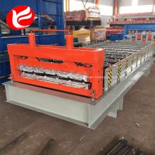 Máquina formadora de rollos trapezoidales automáticos
