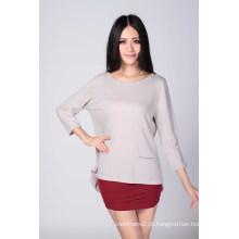 Senhoras ′ moda suéter de cashmere (1500008067)