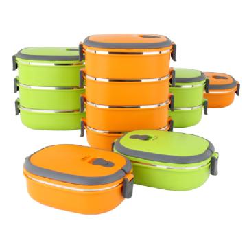 Compra a granel de China Lunch Box / Thermos para comida caliente / Lunch Box de dos capas http://meiming.en.alibaba.com/