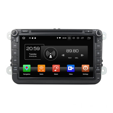AUTORADIO GPS ANDROID voor Passat Golf Touran
