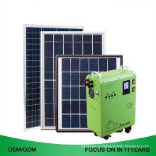 Système d'alimentation à la maison de système d'énergie solaire de l'opération 150W 200W facile