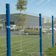3D PVC Coated Garden Wire Mesh Fence For Garden
