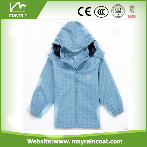 New Design Fashion PU Raincoat