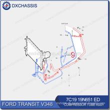 Original Auto Ersatzteile für Ford Transit Kompressor Rohr 7C19 19N651 ED