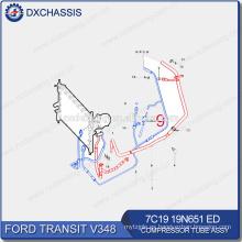 Repuestos de automóviles originales para Ford Transit Compressor Tube 7C19 19N651 ED