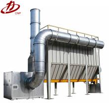 Industrial baghouse tipo saco extração de fumos sistema de extração