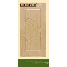 Peau de porte en papier mélamine HDF avec le meilleur prix