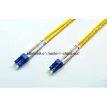 Cordon à fibres optiques avec connecteurs Sc LC St FC