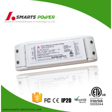 CE ETL listed triac dimmable 12w 24v LED panel light driver with small size