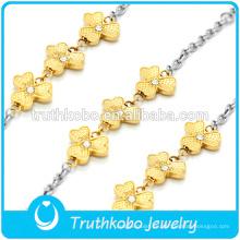 Brazaletes de plata y oro - Anillos de perlas y accesorios de joyería